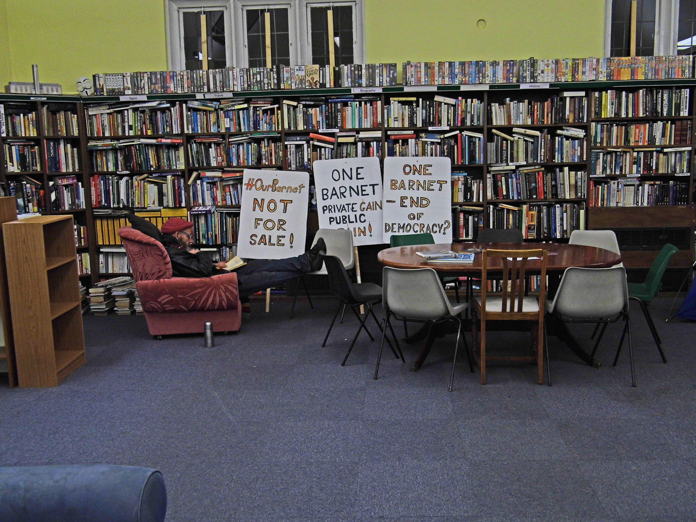 The Library that Refused to Close