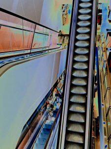 1l - Escalators In London - Hon Mention in Circle Arts Foundation