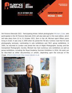 2a - Florence Biennial announcement